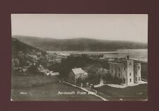 Wales Merionethshire BARMOUTH from west pre1919 RP PPC by Valentine