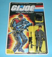 *RECARDED* 1986 GI Joe Low Light Figure Complete Sealed *CUSTOM File Card Back*