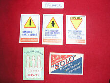 Matchbox Paper Labels - From France
