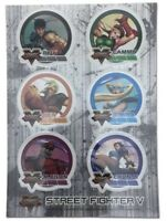 Street Fighter IV Sticker Set SNES Nintendo Capcom LICENSED NEW Canny Bison Ryu