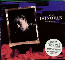 Jason Donovan / As Time Goes By - Limited Numbered