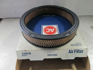ACDelco A169CW Air Filter  GM#5649797  1962-79 GM