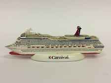 CARNIVAL FREEDOM CRUISE LINE FUN SHIP OFFICIAL MODEL SOUVENIR RESIN B52
