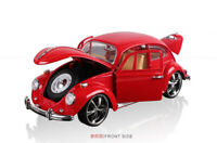 Vintage VW Beetle Superior 1967 1/18 Model Car Diecast Collectable Gift Boys Red