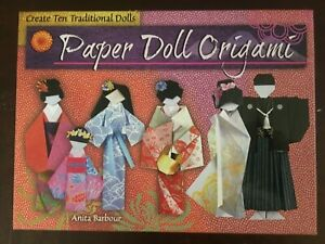 NEW A World Of Paper Dolls Gift Box Set Traditional Origami Paper Dolls Kit