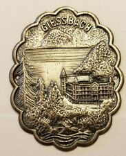 Giessbach Hotel, Switzerland Stocknagel, Hiking Medallion, Badge, New, GP14-25