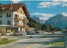 AK aus Winklern mit Sporthotel Defreggerhof, alte Autos, Oldtimer, Kärnten (C52)