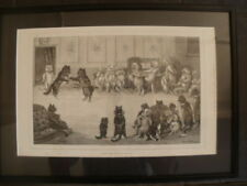 Engraving Art Prints Original Louis Wain