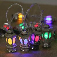 Ramadan / Eid Festival Light Indoor LED Light String Silver Lanterns. USA SELLER