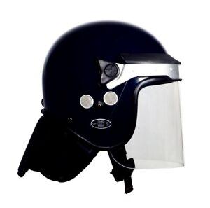 ARGUS APH05 - T PUBLIC ORDER / RIOT HELMET ( BLACK ) HEAD SIZE 1 ( 54 - 55cms )