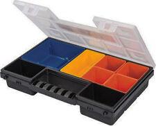 8 Compartment TOOL ORGANISER Box Storage Screw Nail Nut Bolt Tidy Case U300