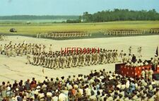 KEESLER AIR FORCE BASE, BILOXI, MS. troops in massive review. Air Force birthday