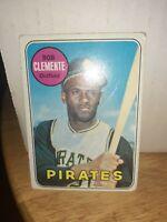 1969 Topps Roberto Clemente Pittsburgh Pirates #50 Baseball Card