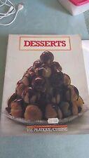 Livre de cuisine desserts