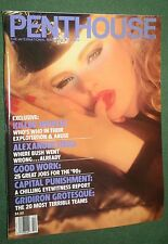 Penthouse Oct 1989 POM Diana Van Gils Hot Jobs Alexander M. Haig Jr interview