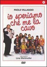 Dvd IO SPERIAMO CHE ME LA CAVO (1992) *** Paolo Villaggio ***......NUOVO