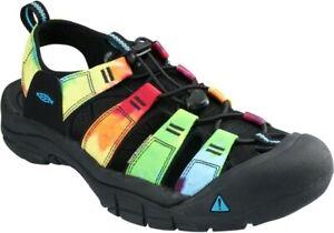 Keen Newport Men's Retro Water Sandal Shoes, Tie-Dye - 1018804
