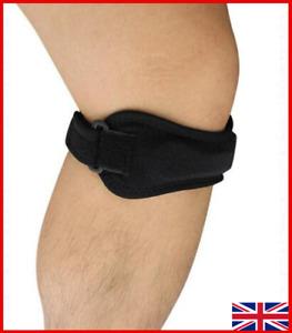 Patella Neoprene Knee Support Brace Adjustable Strap Tendon Running Sport Pain