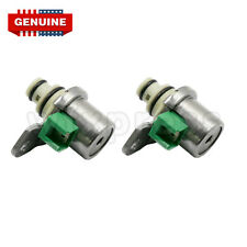 2Pcs GENUINE 4F27E Transmission Shift Solenoid Set Ford Focus / Mazda 1999-On