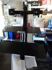 Ergotron 33349200 Workfit-S Dual Worksurface Stand - Black