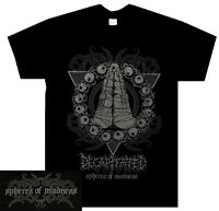 Decapitated Spheres Of Madness Shirt S M L XL XXL T-Shirt Death Metal Tshirt New