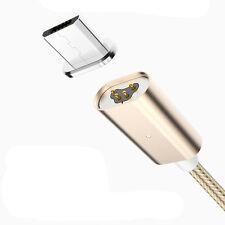 Cavo micro USB MAGNETICO caricabatteria nylon per HTC One M7 M8 M9 A9 MC522
