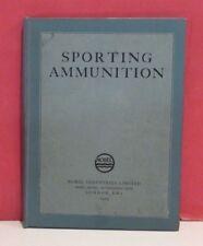 Nobel Industries Sporting Ammunition & Gunpowders Catalogue-1925-Eley & Kynoch
