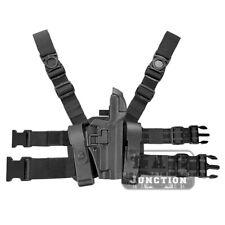 Tactical Level 3 Serpa Light Bearing Drop Leg Holster for SIG SAUER P220 P226