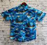 Kids Boys Hawaiian Shirt 100% Cotton Summer Floral Beach Party Short Sleeve