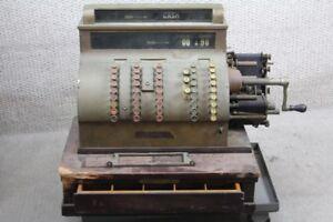 Rare Old VINTAGE ANTIQUE NATIONAL CASH REGISTER  Model 904 (3)