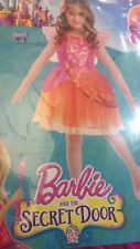 Barbie and the Secret Door Nori Vestito Abito per Bambina 3-5 Anni 104cm - Nuovo