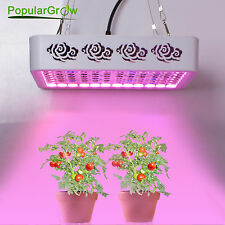 PopularGrow COB 300W LED Grow Light 2 in 1 Chips Panel Indoor Tent Veg Plant