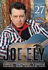 Joe Ely 2016 New York Concert Tour Poster-Americana, Texas / Progressive Country