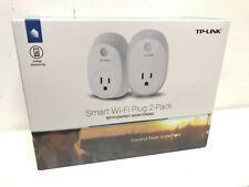 TP-LINK - HS110 Wi-Fi Smart Plug with Energy Monitoring (2-Pack) - White, New