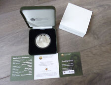 2017 Ireland €15 Silver Proof Jonathan Swift Coin Gulliver's Travels CB PP