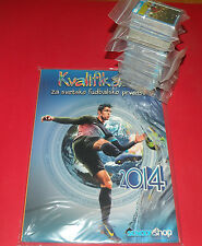 WORLD CUP QUALIFICATIONS 2014 BRAZIL ALBUM + 980 LOOSE STICKERS SET NOT PANINI