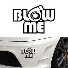 Blow me turbo Decal Funny Car Vinyl Sticker Euro JDM Racing Window Decal Illest