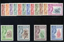North Borneo 1961 QEII set complete MLH. SG 391-406. SC 280-295.