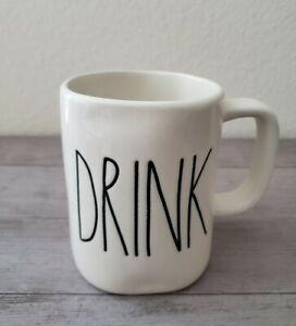 BRAND NEW RAE DUNN By Magenta DRINK Coffee Tea Mug Farmhouse Spring Home Decor