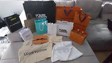 Louis Vuitton, Prada, Michael Kors, Dior, Tiffany u.a. Einkaufstaschen, Dustbags