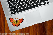"CLR:TP - Butterfly - Orange Monarch - Vinyl Trackpad Decal ©YYDC (3.25""w x"