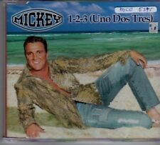 (BF721) Mickey, 1-2-3 (Uno-Dos-Tres) - CD