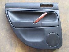 W8 Türverkleidung hinten links VW Passat 3BG Variant Verkleidung LEDER schwarz