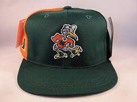 Kids Size 4-7 NCAA Miami Hurricanes Vintage Snapback Hat Cap