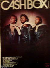 CASHBOX COVER BEE GEES BARRY ROBIN MAURICE GIBB ABBA TAMMY WYNETTE GEORGE JONES