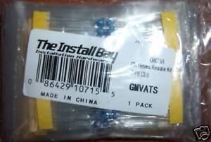The Install Bay GM VATS Bypass Kit Installer 15 Pack Car Remote Start Resistors