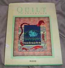 "'QUILT AUSTRALIA"" HARD COVER BOOK FROM THE QUILTERS GUILD 1988 EXHIIBITION"