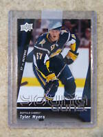 09-10 UD Upper Deck Young Guns TYLER MYERS #214 YG Rookie RC