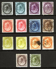 Canada #74-#84 1898-1902 Queen Victoria Nice Mint & Used Lot 14 items