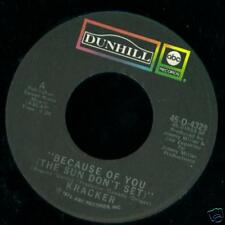 KRACKER 45 City Blues / Because Of You DUNHILL Blues Rock 1972  MINT